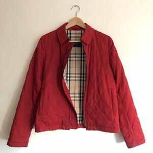 Authentic Vintage Burberry Quilted Jacket Sz. M